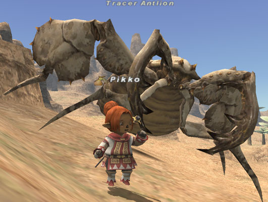 Tracer Antlion Bestiary Final Fantasy XI ZAM