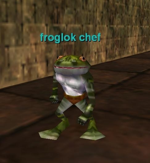 Froglok Chef EverQuest ZAM