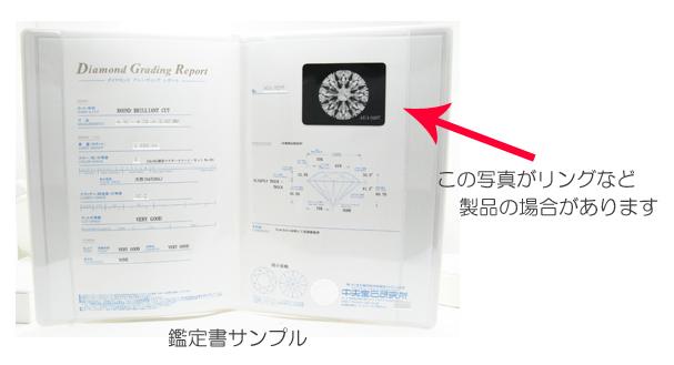 ダイヤモンドの鑑定書