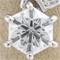 六角形ダイヤモンドが流れ星のように輝く指輪のオーダーメイド