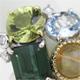 複数のジュエリーから色石を集めて1つの指輪へリフォーム