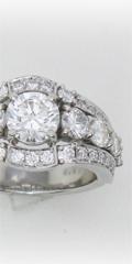 ダイヤの指輪5本からボリュームリングへジュエリーリフォーム