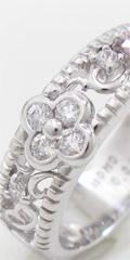 ピンクダイヤモンドのリングをリフォーム、お客様の口コミ