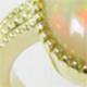 エチオピア産オパールの指輪のセミオーダーメイド
