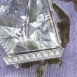 ムーンシュタイナー針水晶ペンダントのオーダーメイド実例