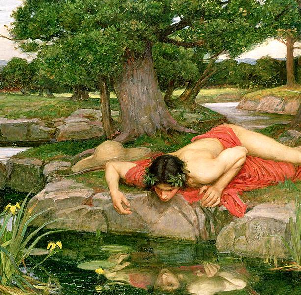 Echo-and-Narcissus-1903-xx-John-William-Waterhouse