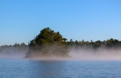 Lake Matagamon at Dawn