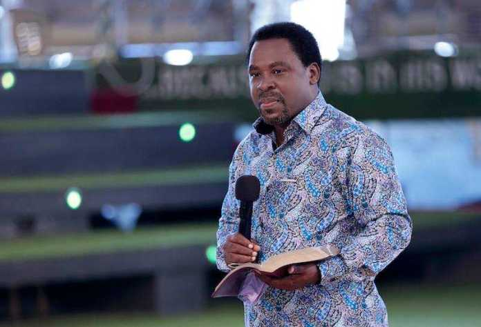 Prophet TB Joshua: Coronavirus will disappear on the 27th of March
