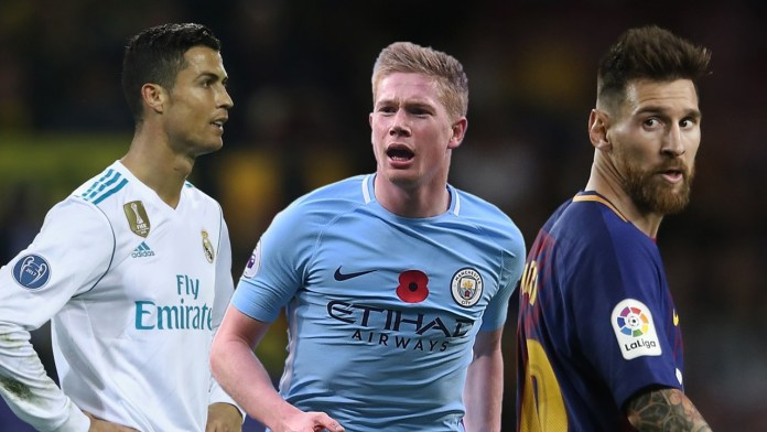 Kevin De Bruyne – You can't compare me with Messi or Ronaldo