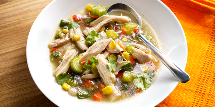 Hearty vegetable soup – Recipe