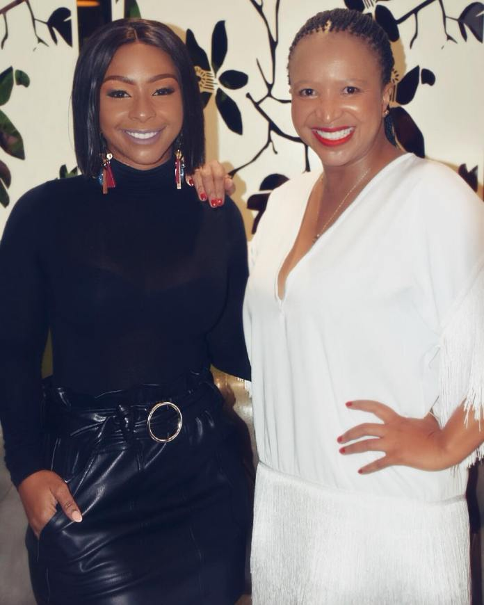 Picture: Boity defends her mom after attack on social media