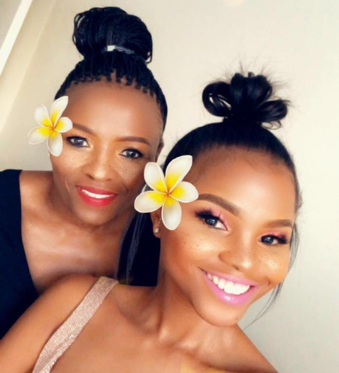 Pictures of Mzansi celebs and their beautiful moms