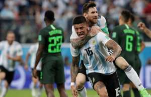 Messi and Rojo