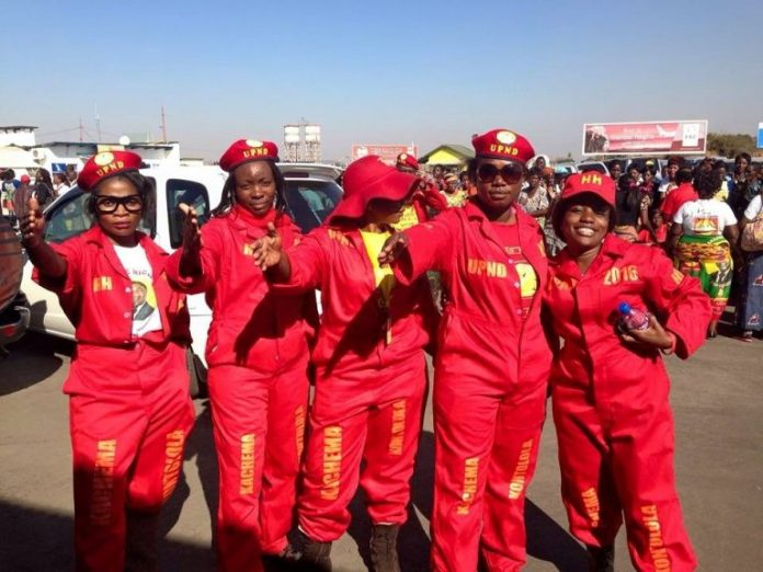 19 UPND cadres arrested for riotous behavior and beating a journalist
