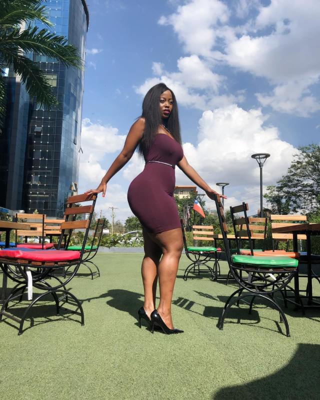 Corazon Kwamboka hits the Gym after eating a Loaf of Bread