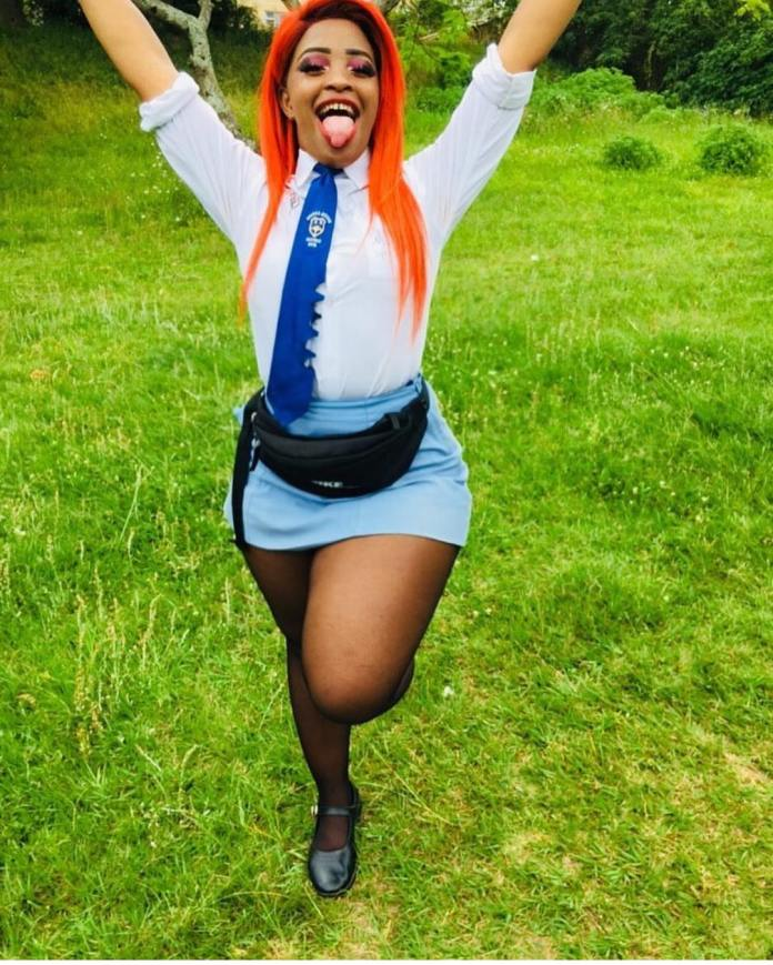 Cindy Makhathini is officially done with High School