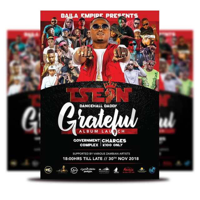 T sean Grateful album launch