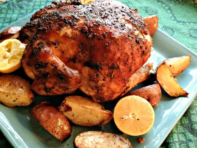 Chicken with cinnamon