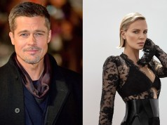 Brad Pitt and Charlize Theron
