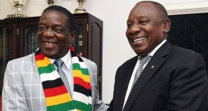 Ramaphosa and Mnangagwa