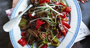 Beef in oyster sauce