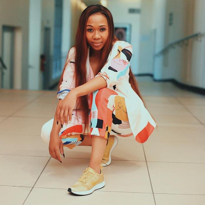 Dineo Ranaka shares her busy schedule during lockdown