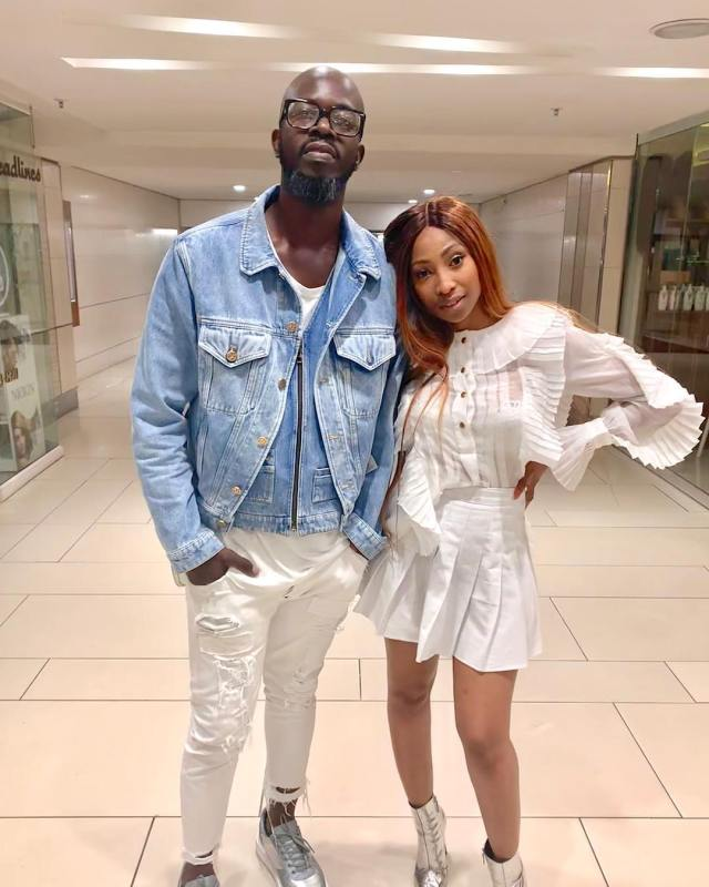 Mbali and Black Coffee