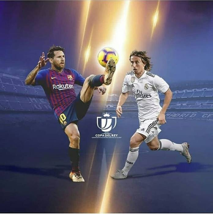 Barcelona to play Real Madrid in a two-legged semi-final