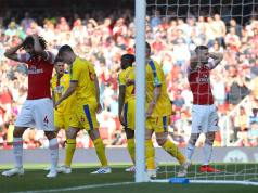 Arsenal 2 - 3 Crystal Palace