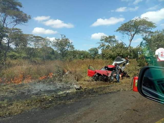 Woman Dies in Accident