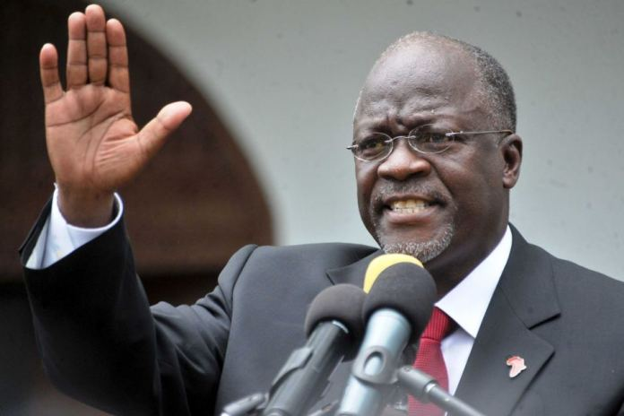 Tanzanian President thanks visiting Chinese official for not wearing a mask in Tanzania – Video