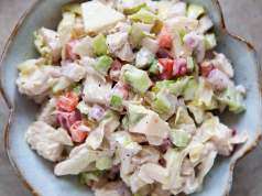 Chicken and herb salad
