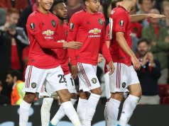 Manchester United 1 - 0 Astana