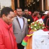 HH at Lawrence Banda Funeral