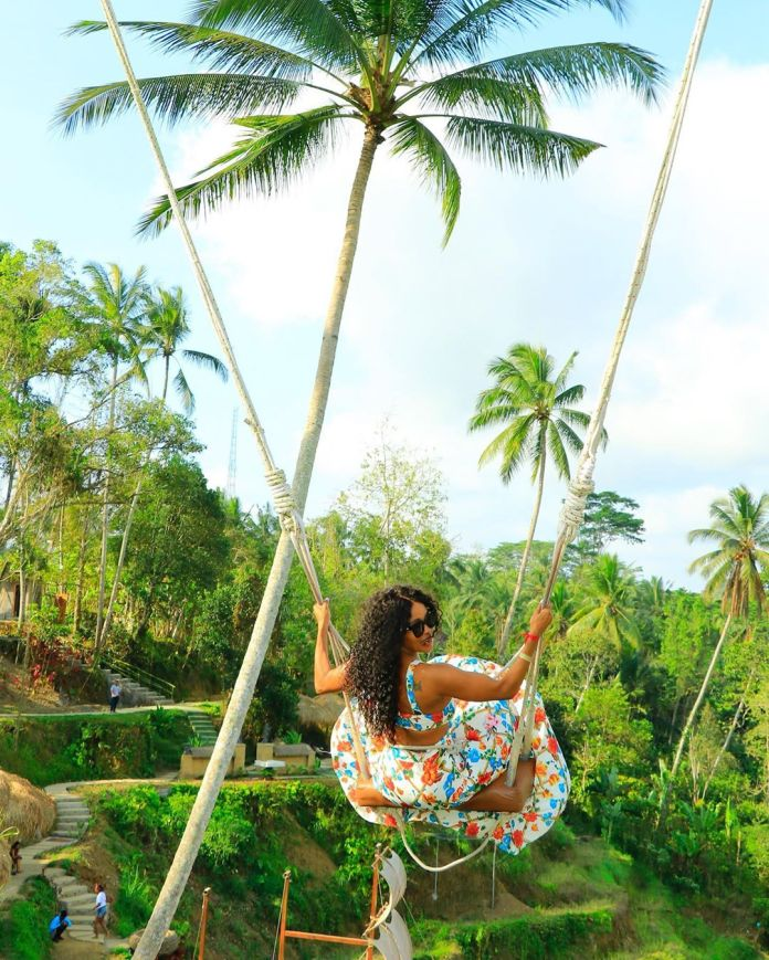 In pics – Thembi Seete Living her best Life In Bali