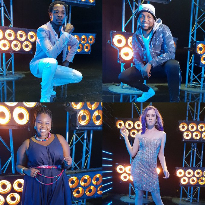 Mzansi's Top 4 give it their all on #IdolsSA