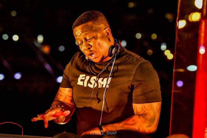 DJ Fresh criticizes petrol stations for not offering hand sanitizer to card-paying customers