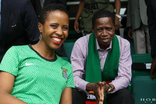 Lungu and Daughter