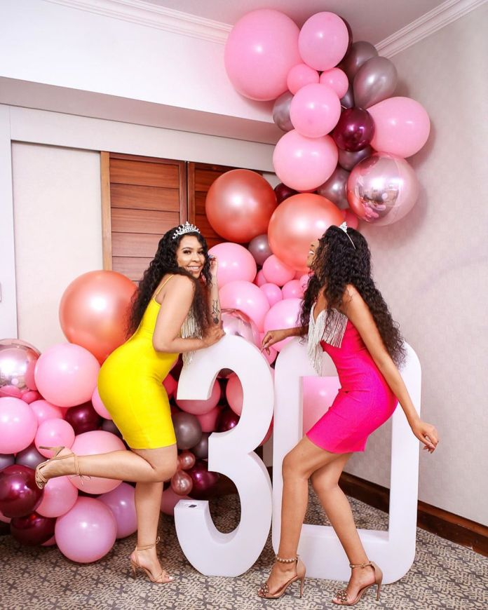 This is beautiful – Blue and Brown Mbombo's 30th birthday