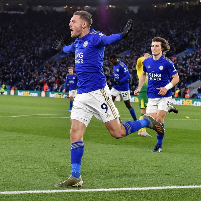 Leicester City, Norwich play to a 1 all draw