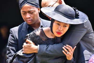 Andile Dikana's doek has been the talk of the town #TheRiver1Magic