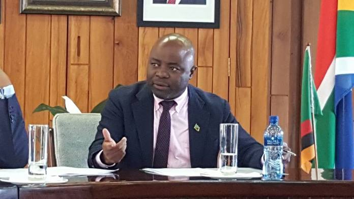 Stephen Kampyongo issues a strong warning to UPND youths amid protest