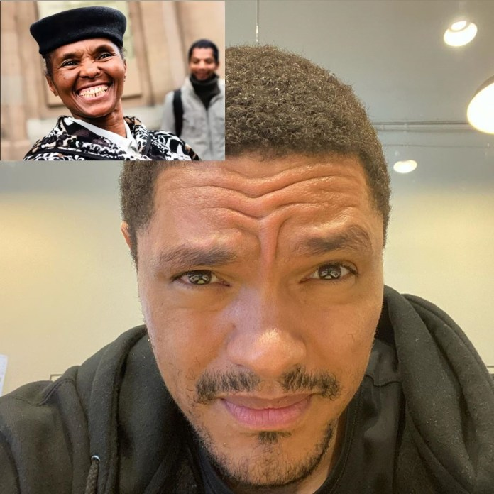 Trevor Noah's mother Patricia feels abandoned by her Son