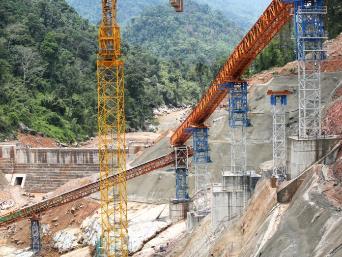 Sino Hydro Construction Company worker dies during the installation of drainage pipes