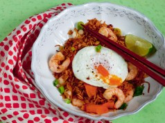 Spicy prawn rice