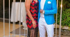 Bahati and fiance enjoy vacation without the kids