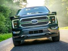 Ford unveils pickup with hands-free driving and integrated power generator