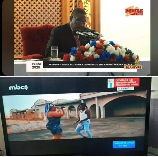 Mutharika moves out of the state house and is abandoned by MDC