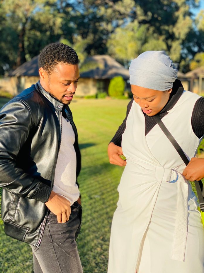 Fans want actress Asavela Mngqithi & Pallance Dladla to date in real life