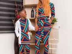 Video: Akuapem Poloo and son bath together